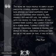Uncritical Thinking - Phil Plait