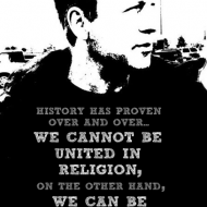 We cannot be united in Religion