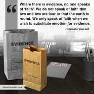 Why Believe Something Without Evidence