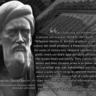 Razi Evicerates the Quran