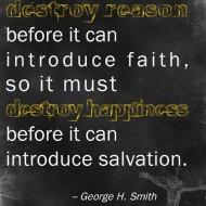 Christianity Destroys Reason