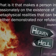 Existence of Metaphysical Reality