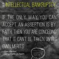 Faith is a Cop Out