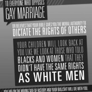 Opposing Gay Marriage