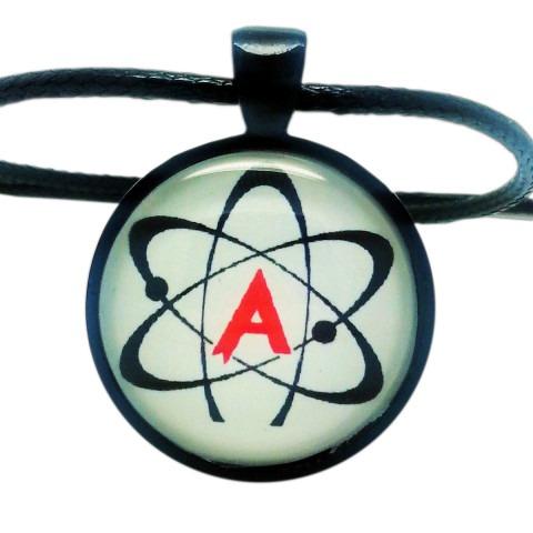 American Atheist Logo Pendant Necklace