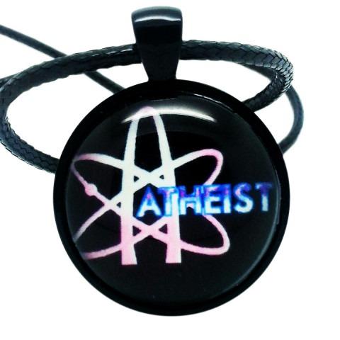 Atheist Science Logo, Pendant Necklace