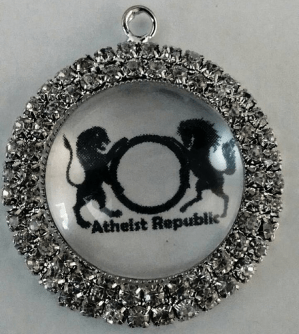 Atheist Republic Bling Pendant