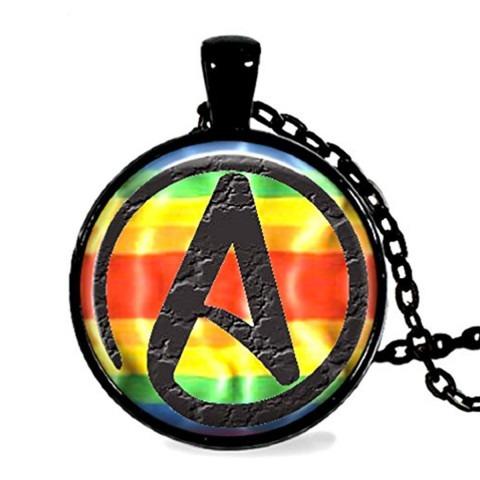 Atheist Rainbow Pendant