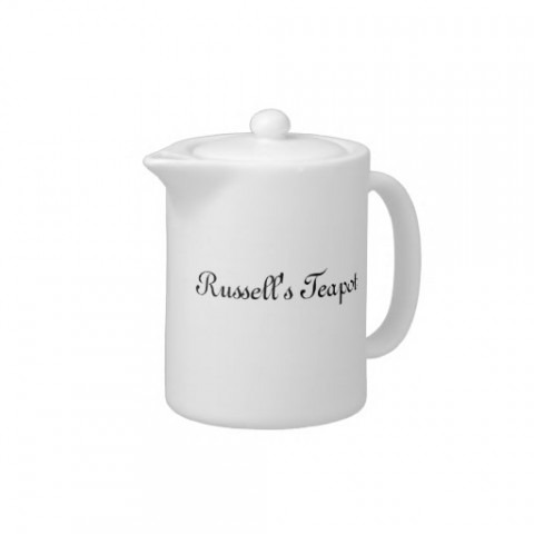 Custom Teapot Design