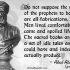 False Statements of Prophets