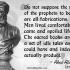 False Statements of Prophets