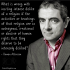 Rowan Atkinson Dislike of Religion