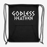 Godless Heathen Sweatshirt Cinch Bag