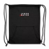 Jesus Enslaves Sweatshirt Cinch Bag