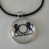AR Silver Necklace