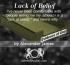 Lack of Belief - Alexander James
