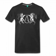 AR Atheist Logo Men's Shirt