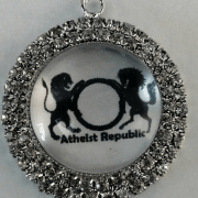 Atheist Republic Bling Pendant