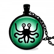 FSM Green Pendant
