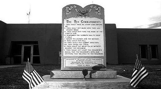 10 Commandments Monument