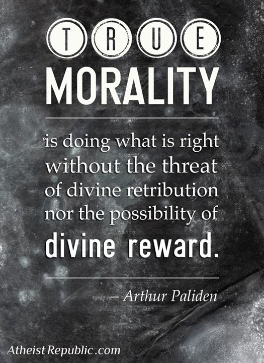 morality and the need for god Morality from religion morality from  because god doesn't need reasons god could just make up reasons but none of them matter because on this view god can.